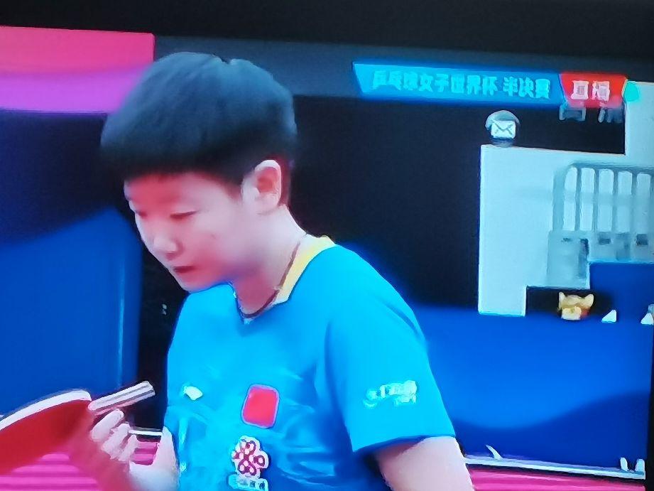 孙颖莎击败伊藤美诚,用实力证明自己,东京奥运会非她莫属