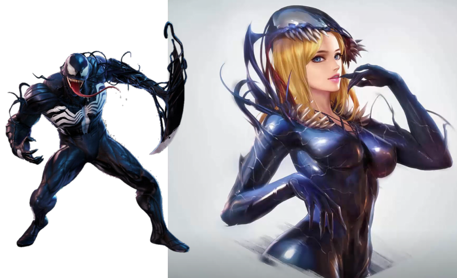 """超级英雄""""女化"""":毒液变化超惊艳,但还是喜欢女版鹰眼"""