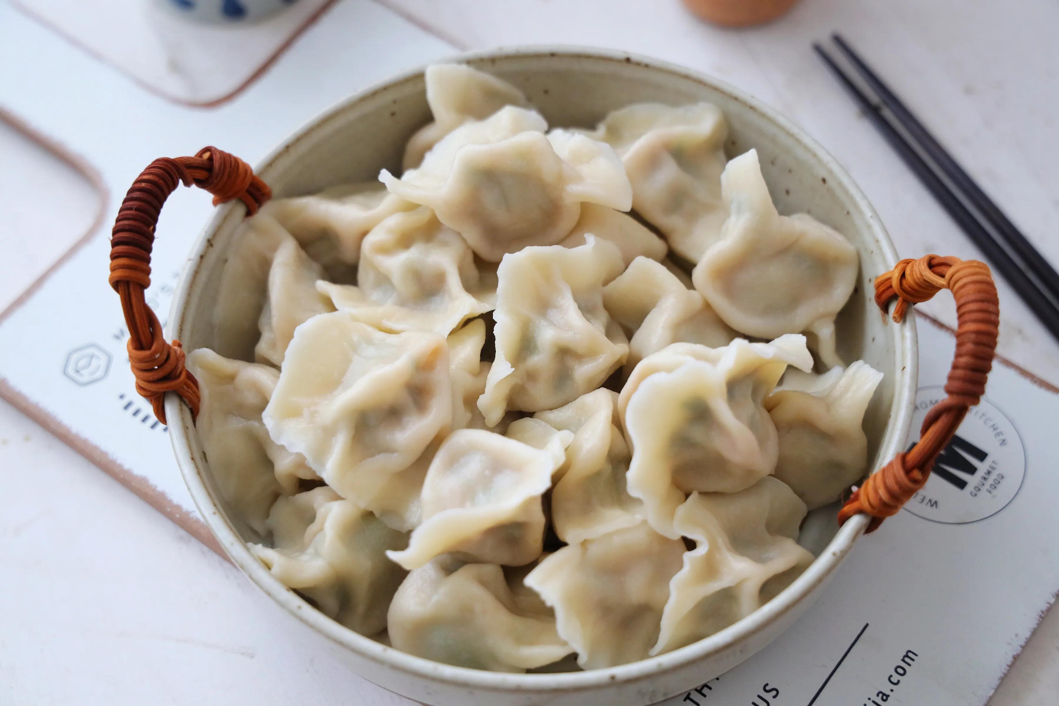 初伏了,这馅儿的饺子一定要吃,清香美味,太适合夏天吃了