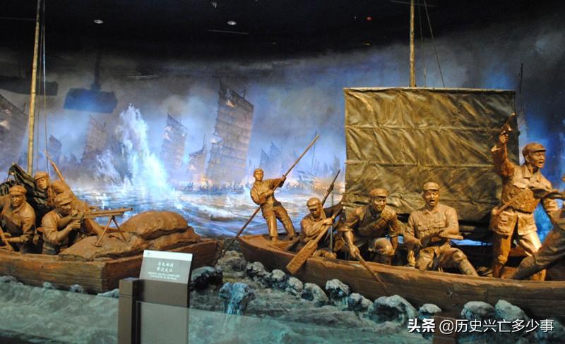 渡江战役前,美国海军不敢在长江停靠,为何英国却大胆挑衅?