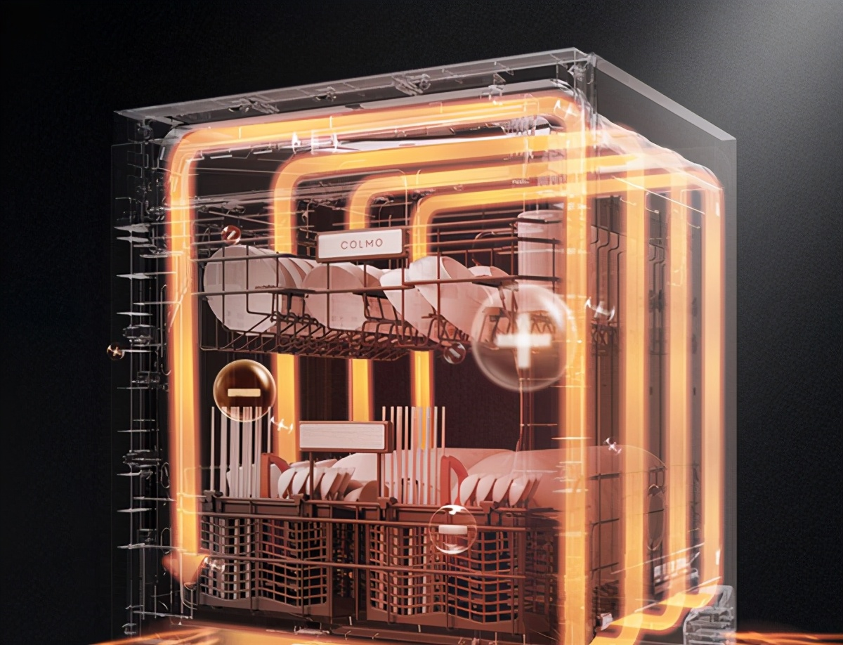 COLMO FB2洗碗机,以人性化设计打造产品极致体验