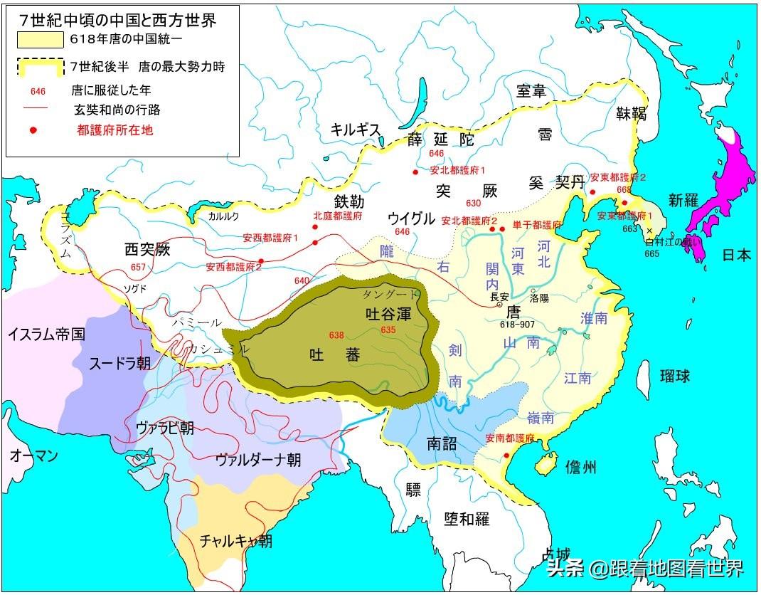 带你逛唐长安城:人口是同时期罗马城50倍,爬墙外出鞭打九十板