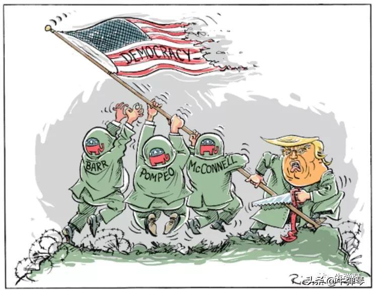 最敏感时刻,美国又发生了五件大事!特朗普撂下一句狠话