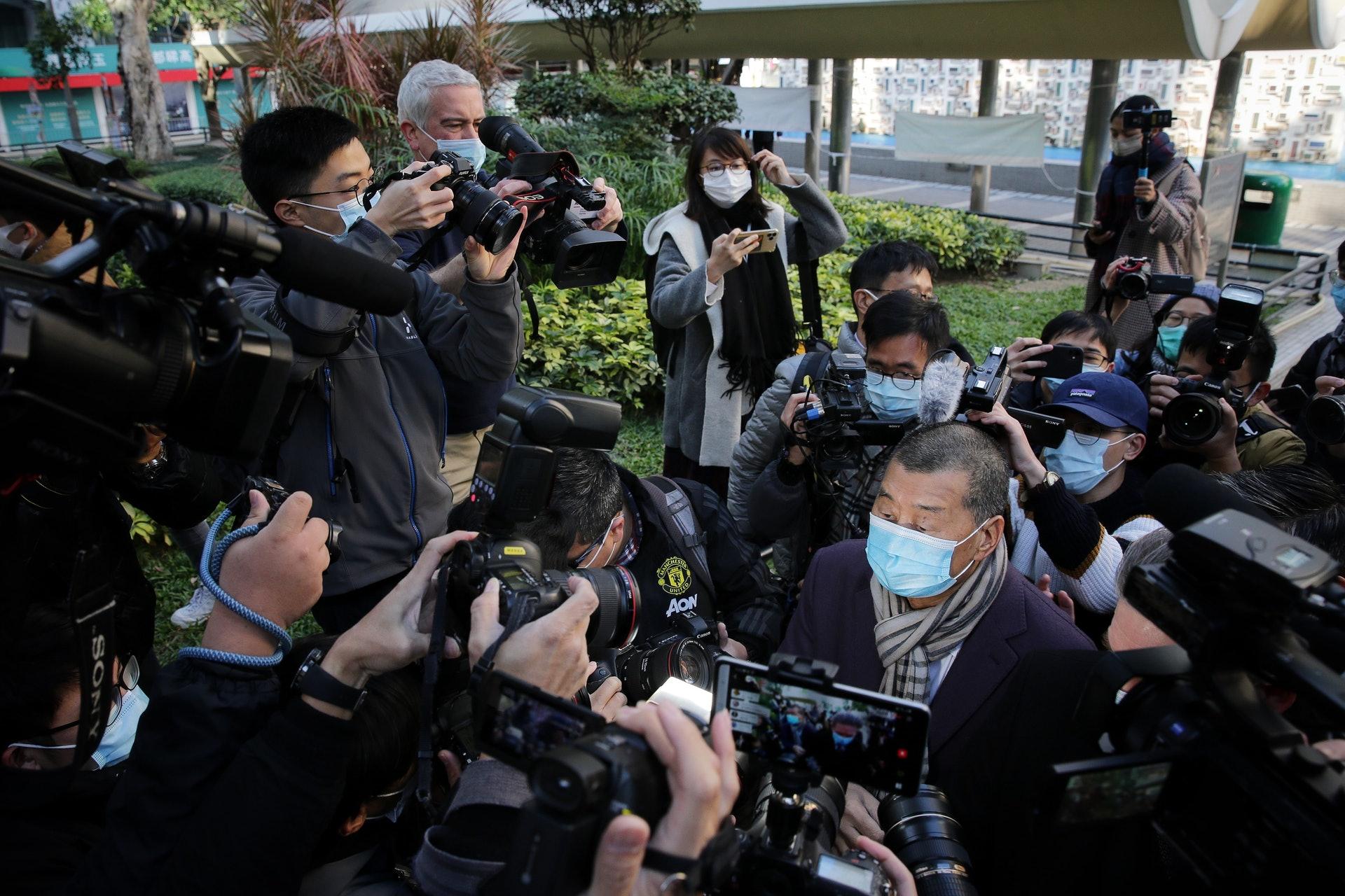 黎智英再度还押!香港终审法院批准受理律政司保释上诉申请