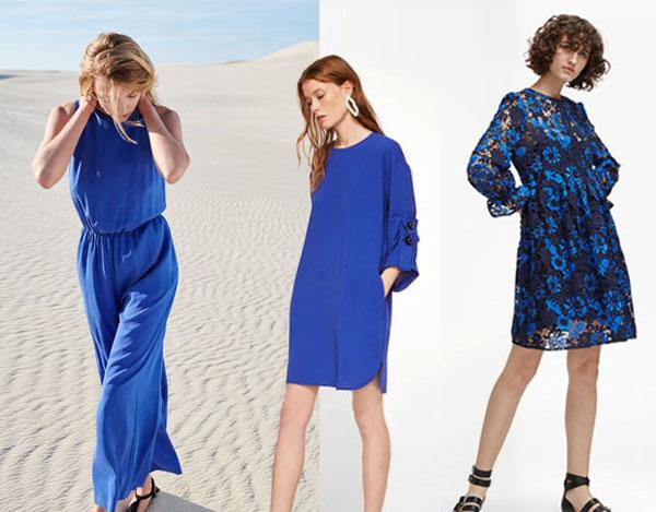 穿衣服难道还能降暑?夏季凉爽的时尚代码,蓝色系清爽干净