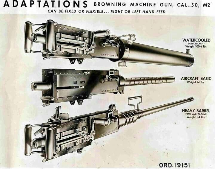 为什么M2重机枪到现在还在用?机枪天花板已经到顶了?