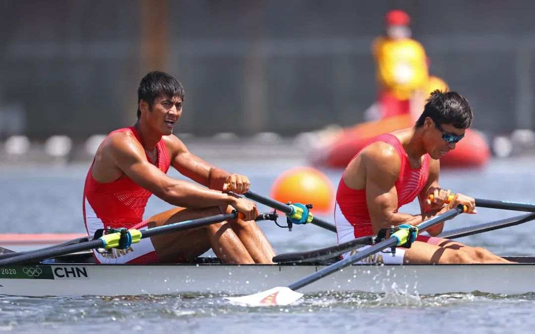 随时调动每一块肌肉,张亮/刘治宇为中国赛艇实现突破
