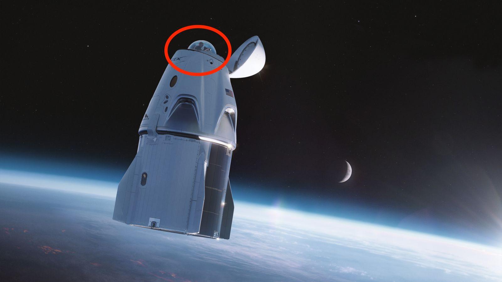 2手飞船3手火箭要送4名游客上天?马斯克太空纯玩团本月即将启程