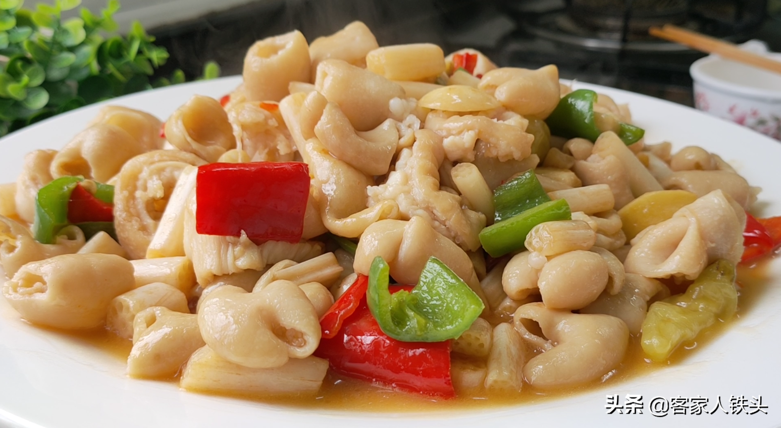 廣東人做肥腸確實好吃,掌握好3步,爽口不韌,孩子也越吃越愛吃