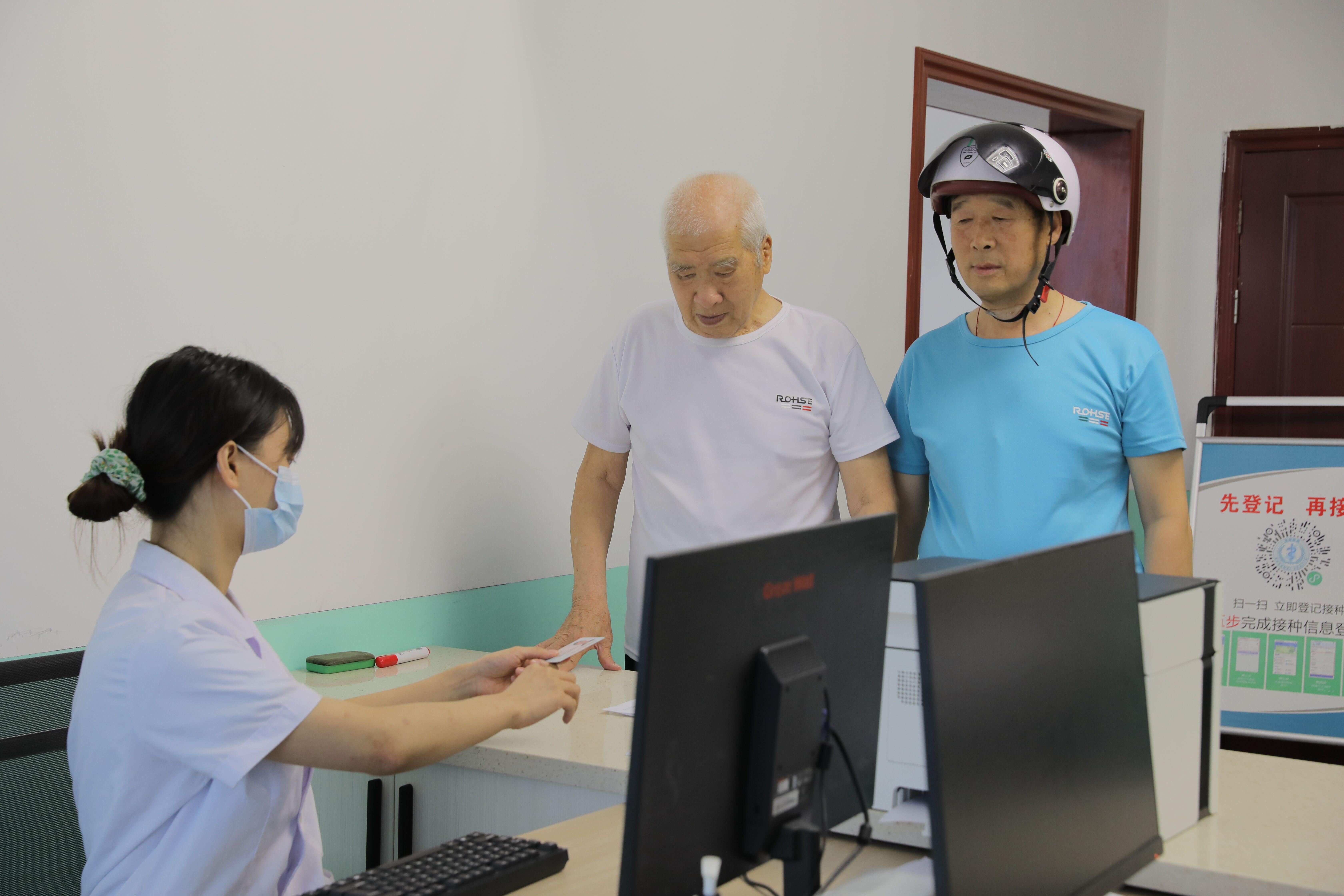 漢濱全面開放18周歲以上人群新冠疫苗接種