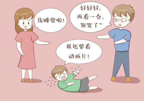 当孩子用哭闹要挟你时,你这个行为对孩子是一种伤害,家长要重视