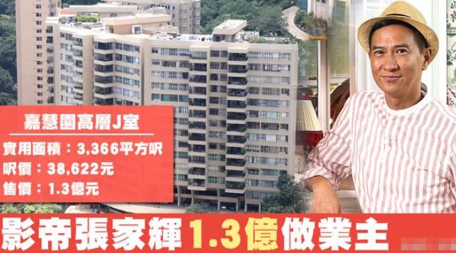 参观影帝张家辉在香港的家,住传统半山豪宅区,家里还聘请了保姆