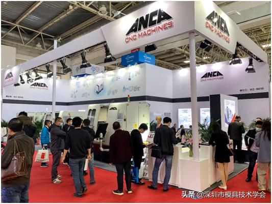 ANCA携高效磨削技术亮相CIMT 2021