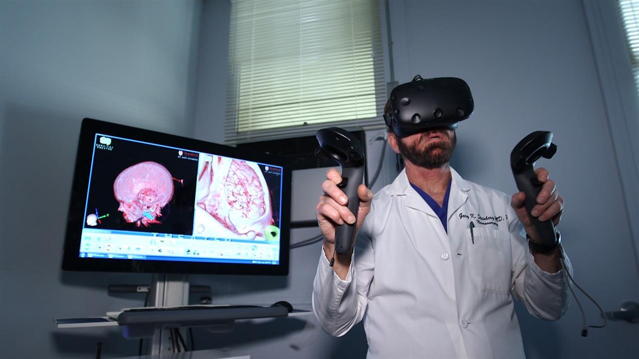 "VR解剖 代替传统教科书的""黑科技"""