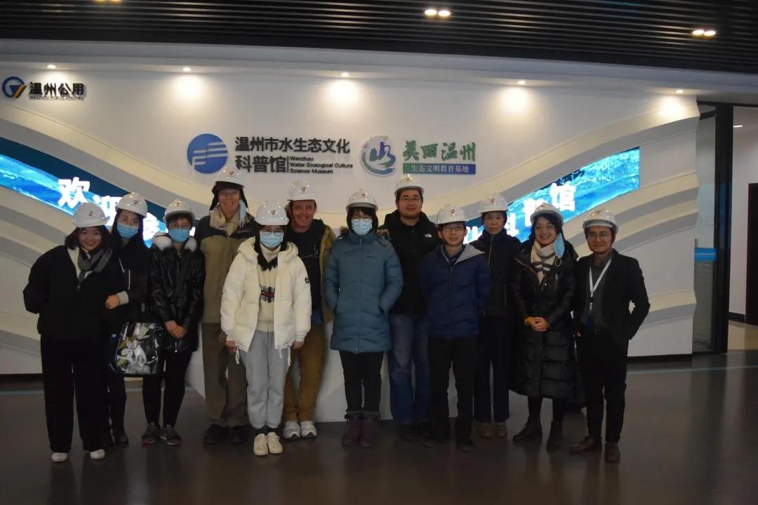 生物实验团队考察温州首座花园式污水处理厂,探索校企合作新方向