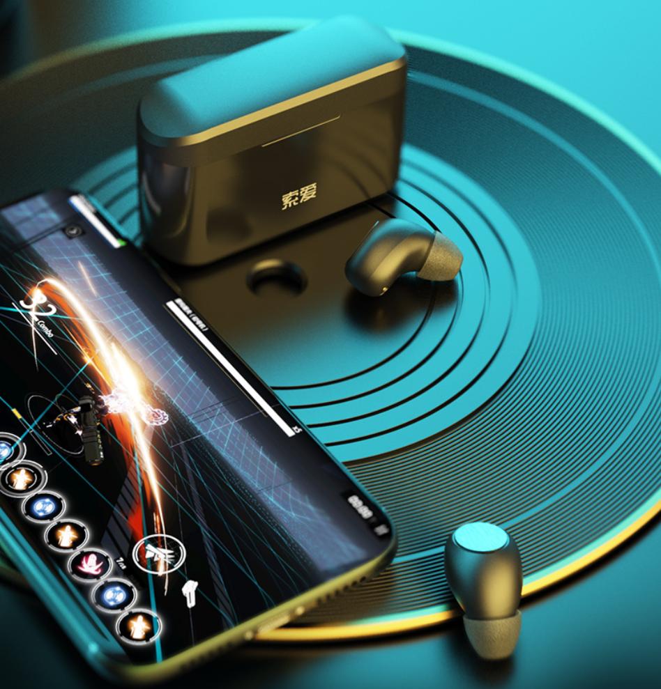 索爱A5S真无线蓝牙耳机,颜值、音质双标,随身携带必不可少