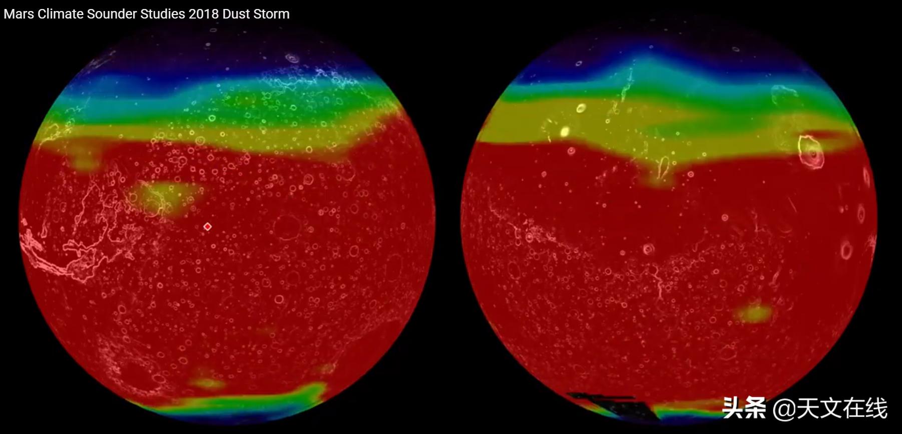 火星沙尘塔降落可覆盖整个美国,怎么形成?先进探测器告诉你答案