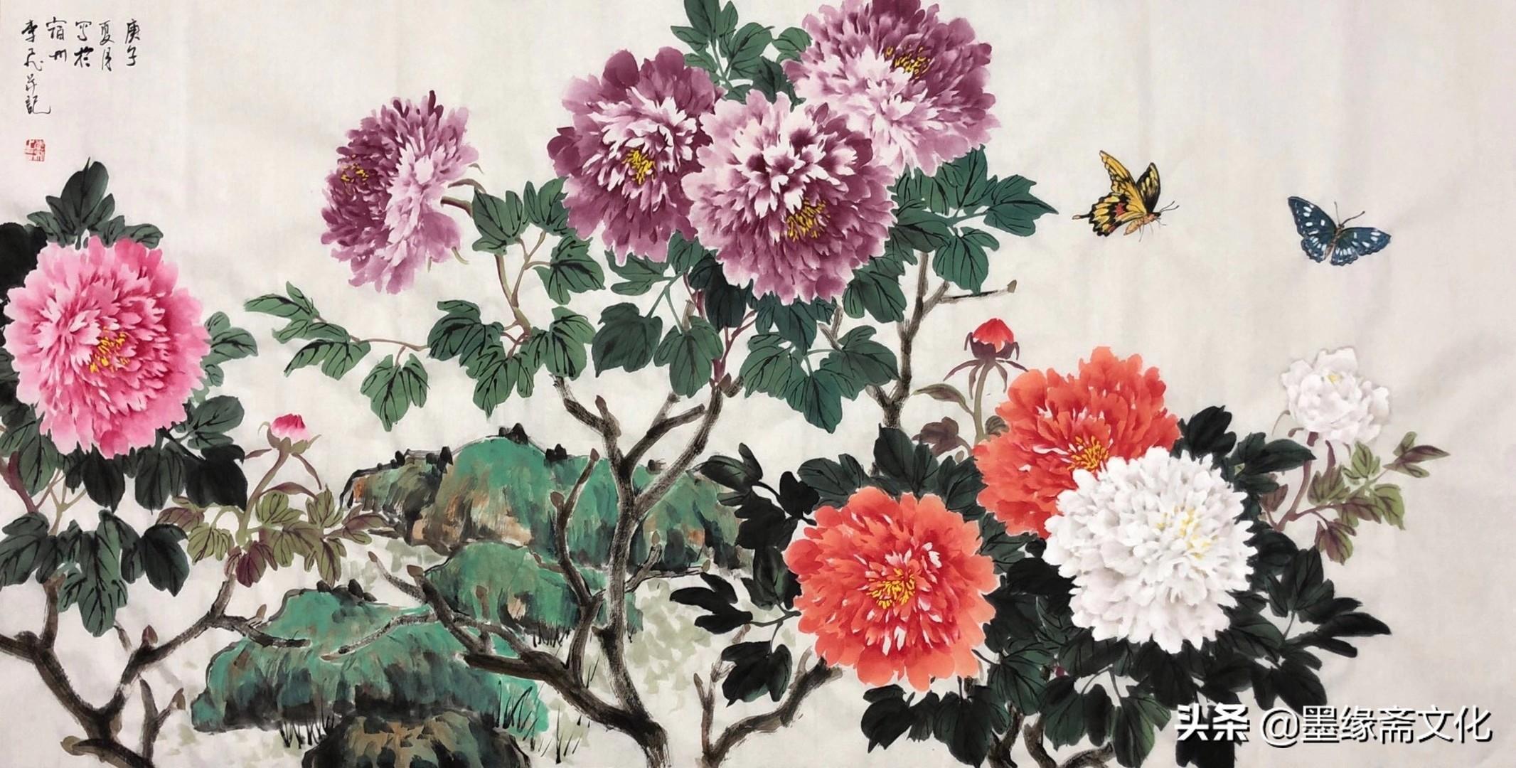 李飞国画作品欣赏