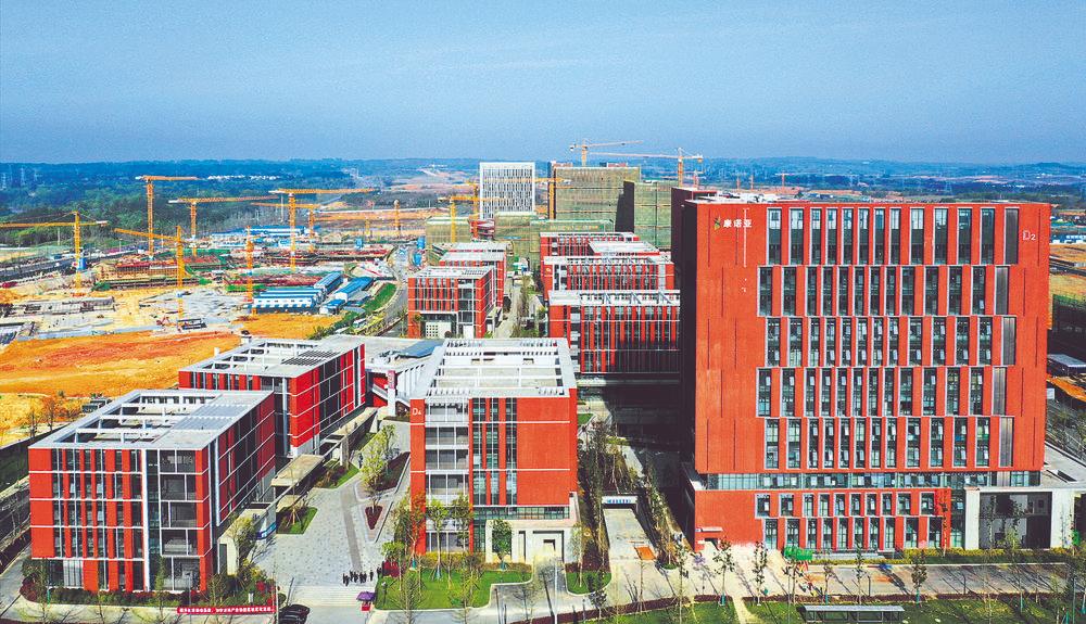 成都天府国际生物城赋能双城经济美好生活