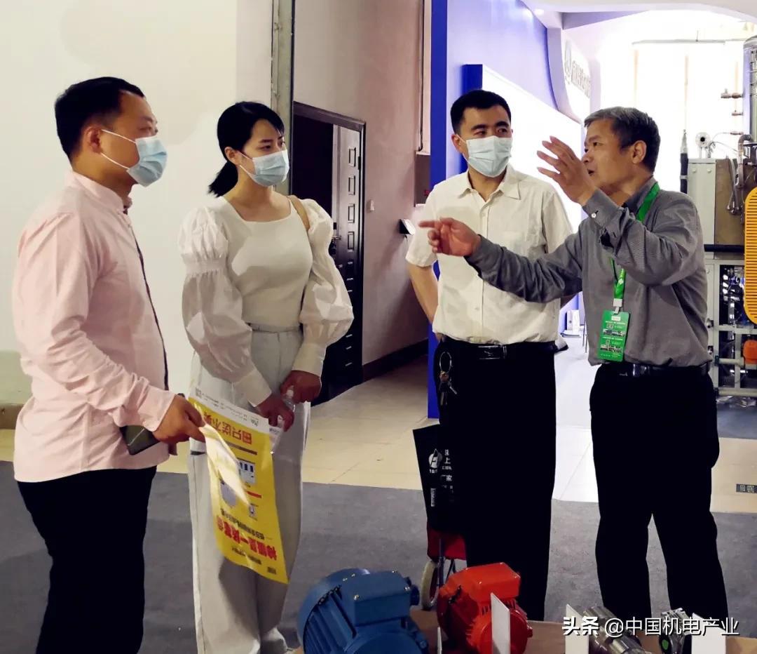 神极为你而来   金路达集团参加第五届中国(淄博)通用机械博览会