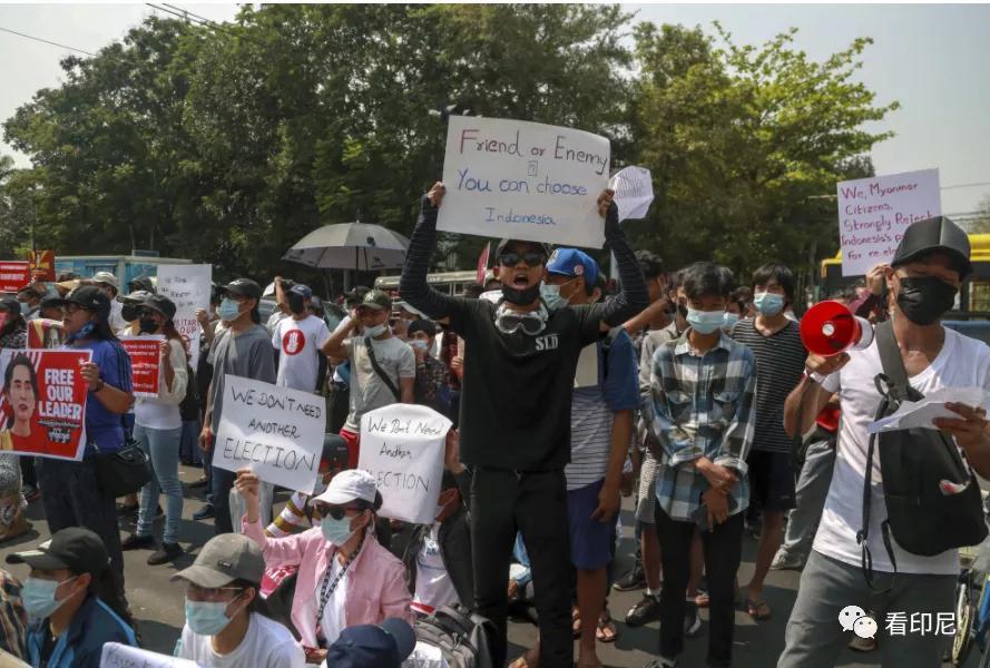 印尼和缅甸之间,什么情况?
