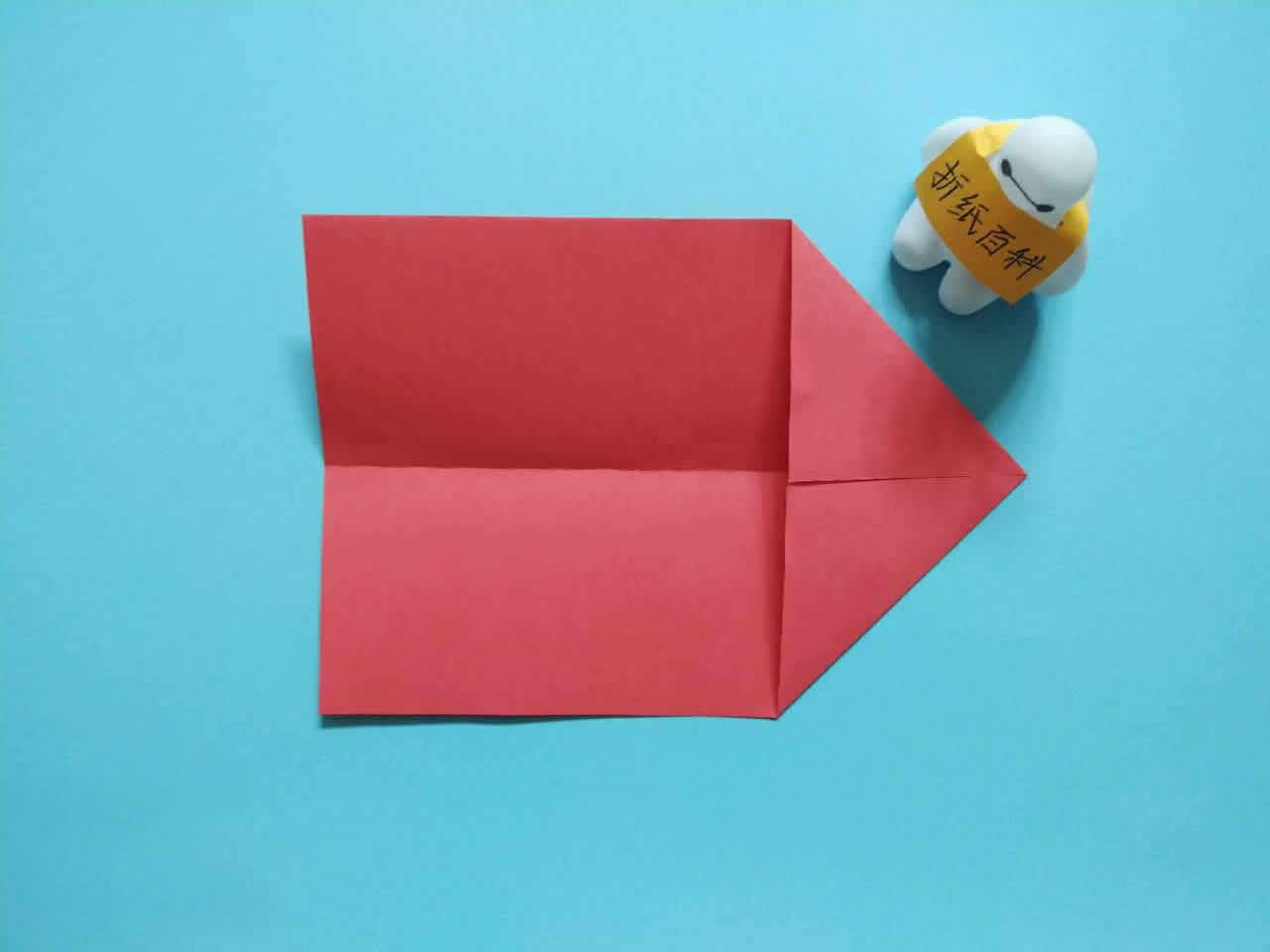 能飞得很远的折纸飞机,简单几步就做好,手工DIY折纸图解教程 家务妙招 第2张