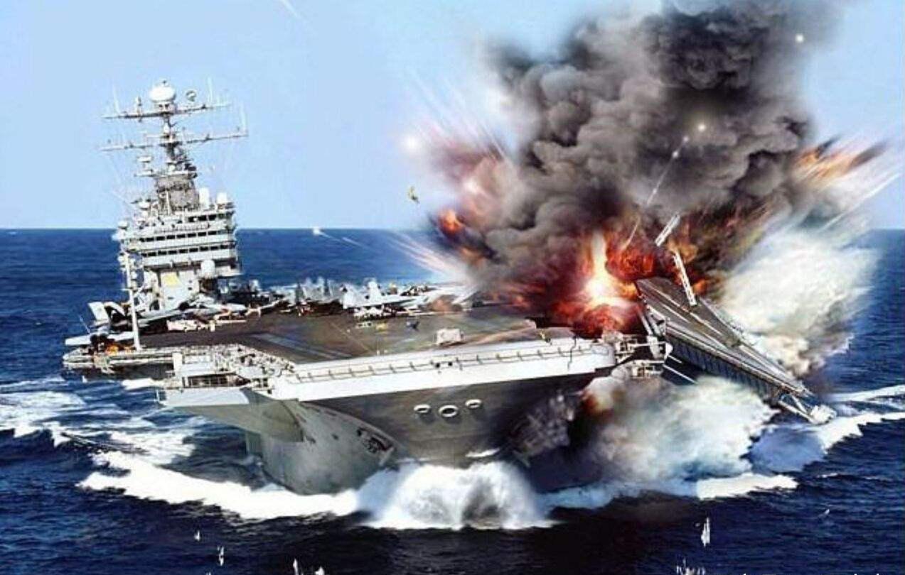 东风导弹真能击沉航母?美军做了次试验,十几枚就能拿下印度洋
