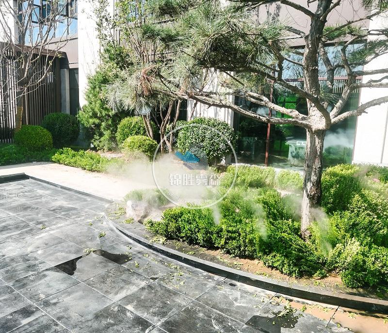 使用人造雾提高售楼部的人气效果如何——成都锦胜雾森