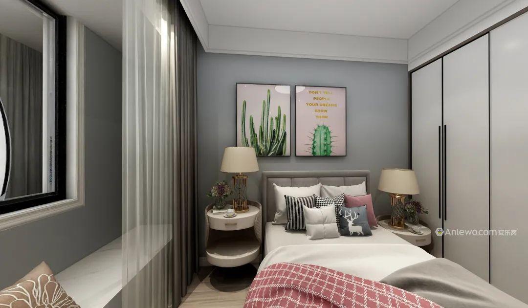 安乐窝119㎡现代简约风,精致四居室,高端有态度