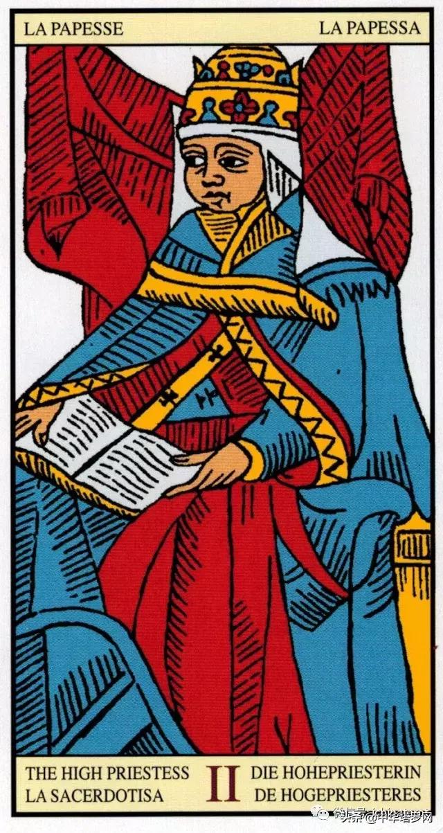 女祭司逆位的感情代表什么-女祭司是什么意思  第5张