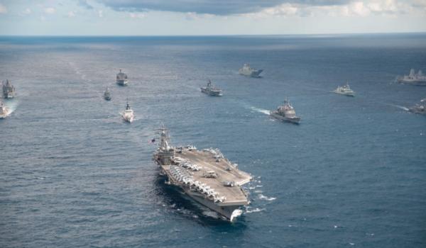 """与中国六次和平只是前戏。澳大利亚退出""""拯救"""",并宣布将与美国军方联合演习"""