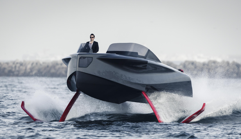 游艇翼板技术:关于水翼艇的一切都在这里