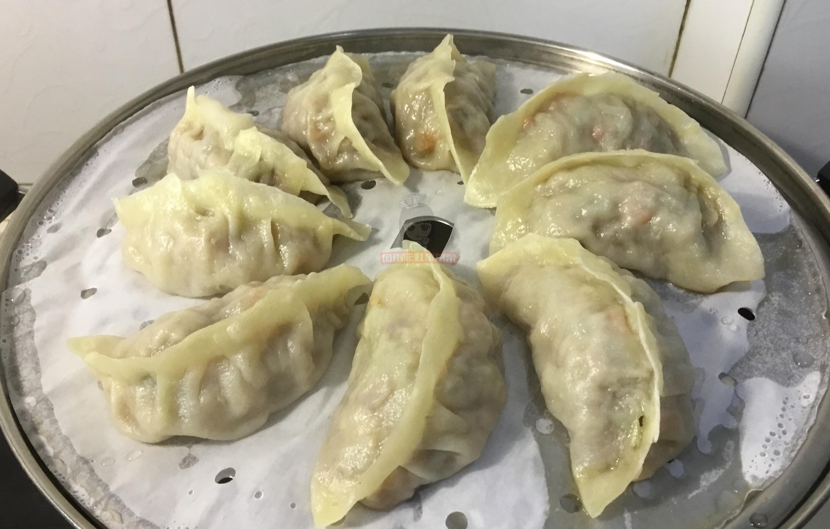牛肉馅蒸饺,调馅是关键,做对了肉嫩多汁,味道鲜美 美食做法 第7张