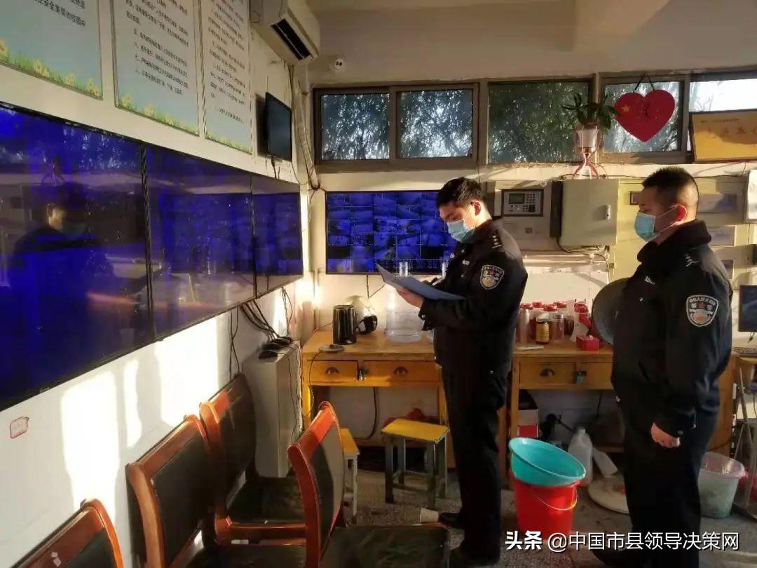 江苏响水警方开启开学护学模式