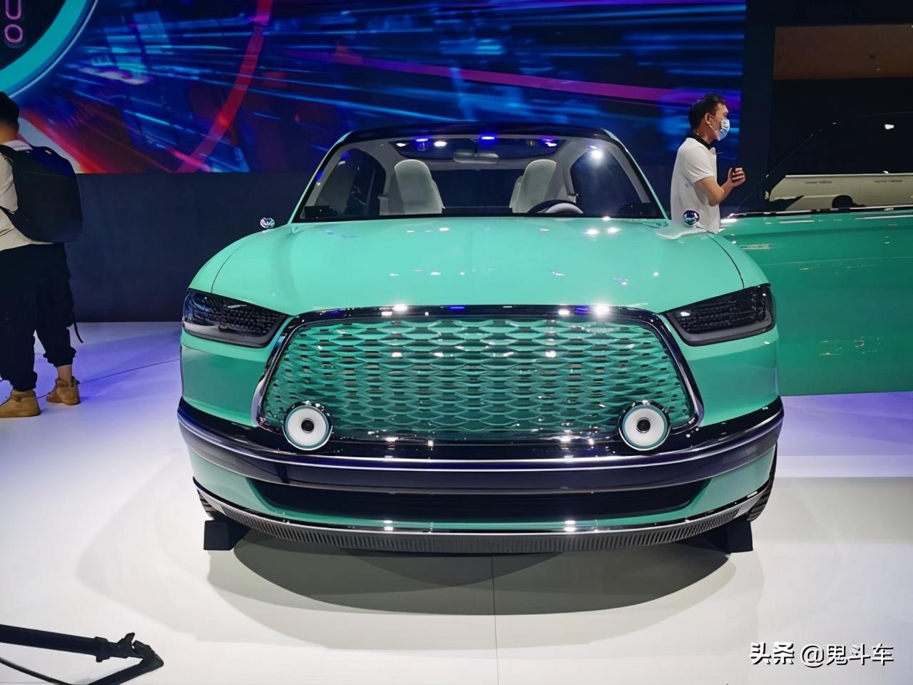 长城官方发布概念车图片 硕大体格对开门车型 咋就是个轿车?