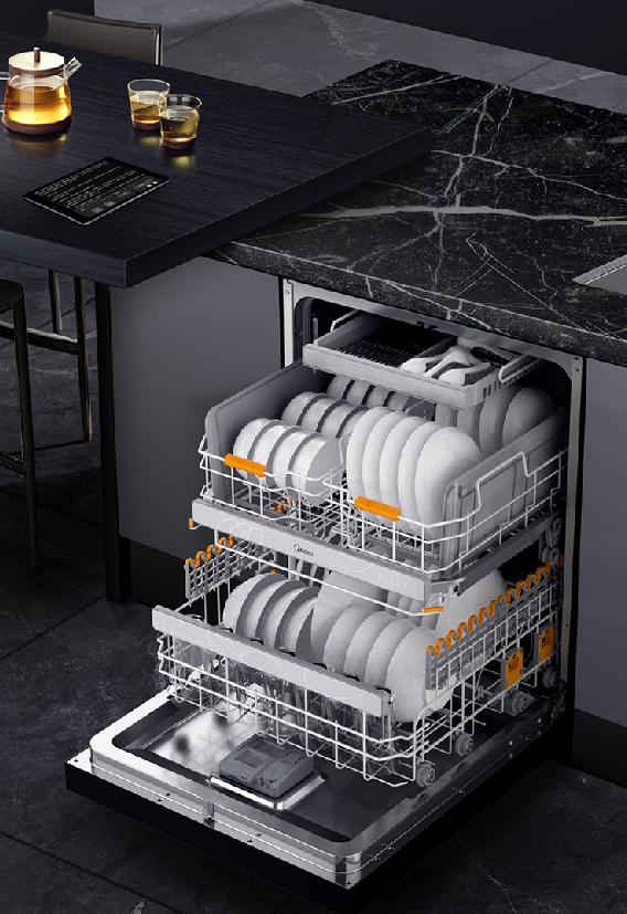 美的悦家智能套系洗碗机·X5 解放双手,悦享生活
