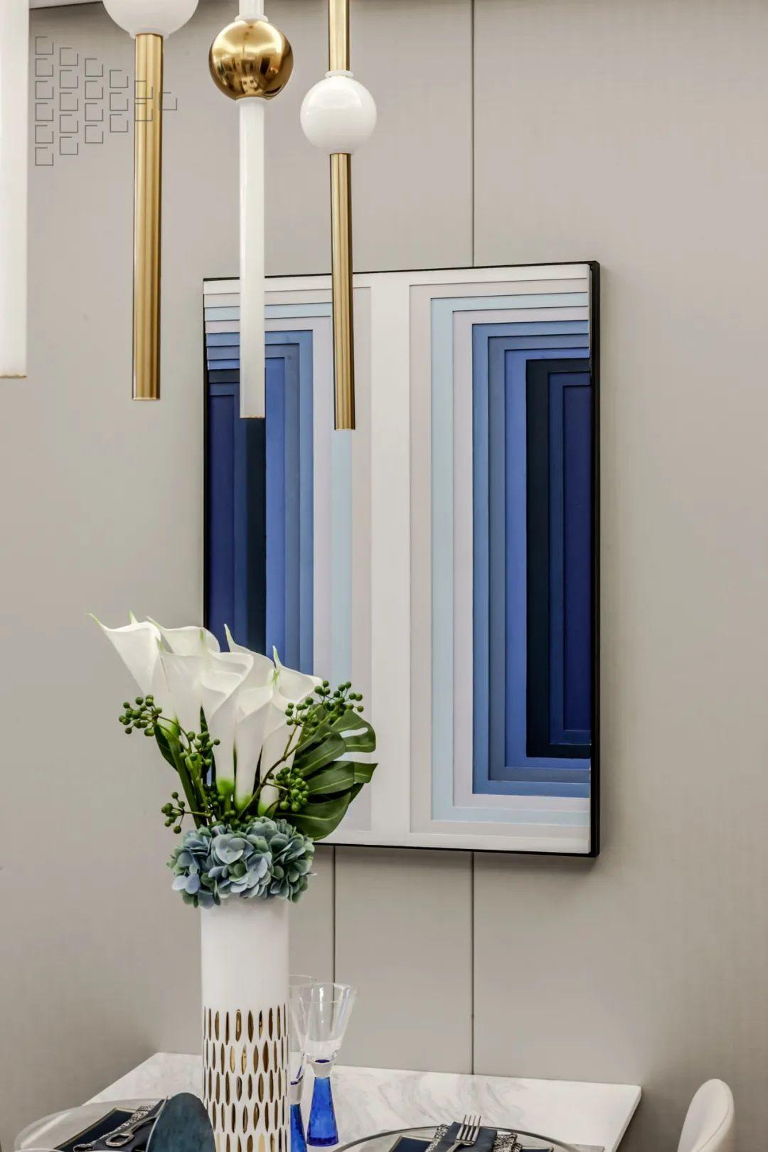 98㎡现代,高级华丽的设计,精致细腻的布置,小空间也档次