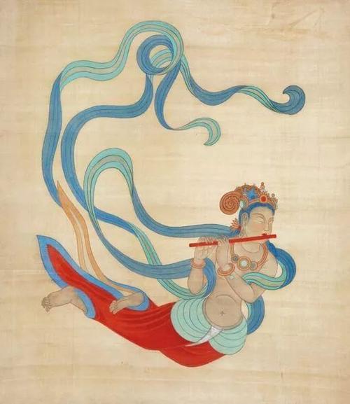中国四大石窟之一:敦煌壁画
