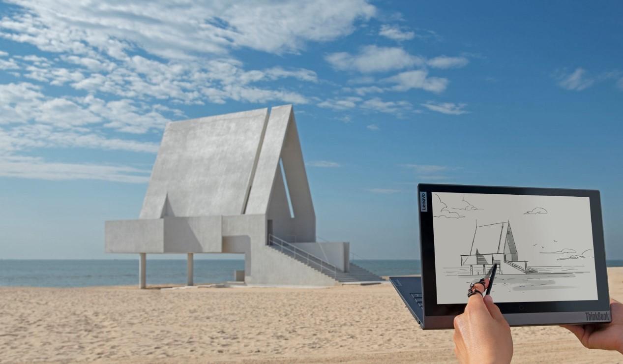全球首款双面屏时尚商务本 ThinkBook Plus 2发布