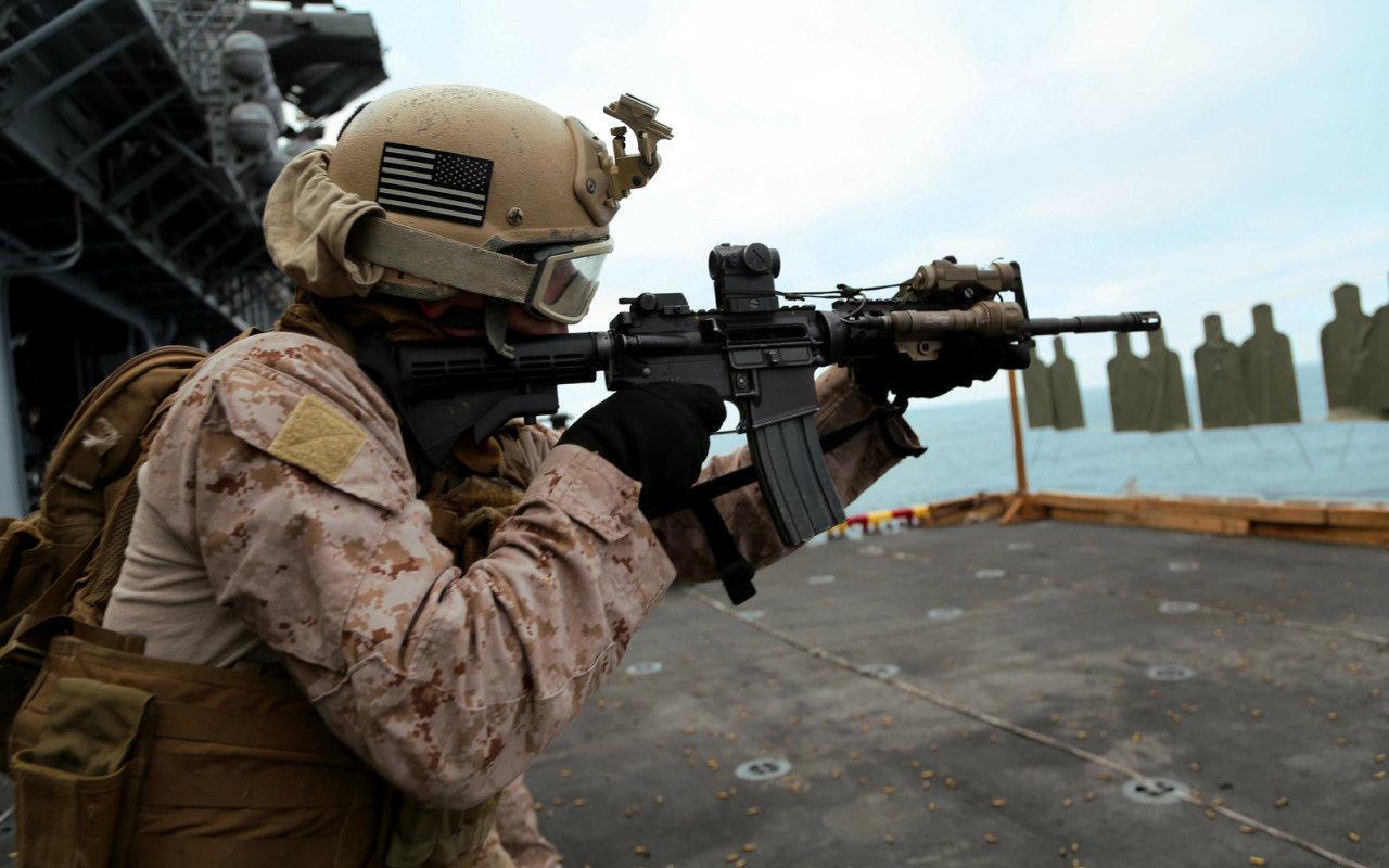 假若中美发生战事,美军可选择五种作战手段,然而改变不了结局
