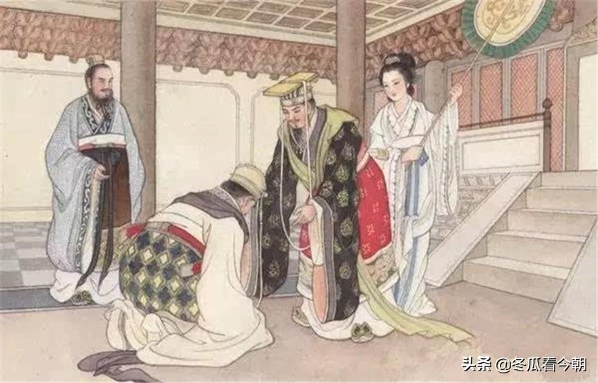 齐桓公称未尝过人肉,此人煮了一锅肉汤,哭着说:这是我儿子