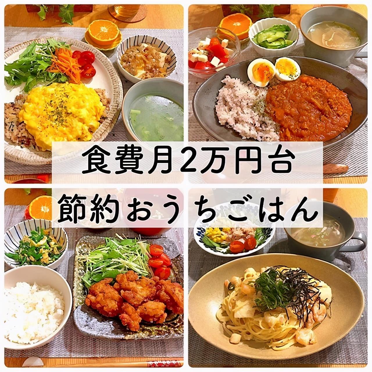 热衷节约的日本主妇,每顿饭不超过7元,网友:太会省钱了 节约省钱 第3张