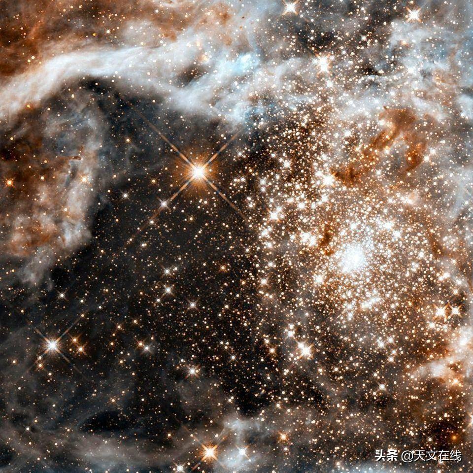 """众星之中,质量为王,揭开""""R136""""的神秘面纱"""