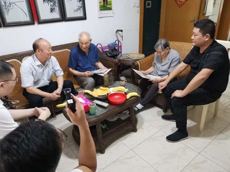 独家 滕州学者赴武汉看望滕州籍著名学者朱传棨教授