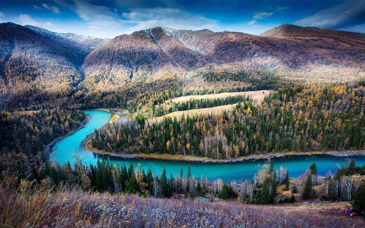 秋天旅游必去打卡的最美秋色,秋高气爽,云淡风轻,让人陶陶欲醉