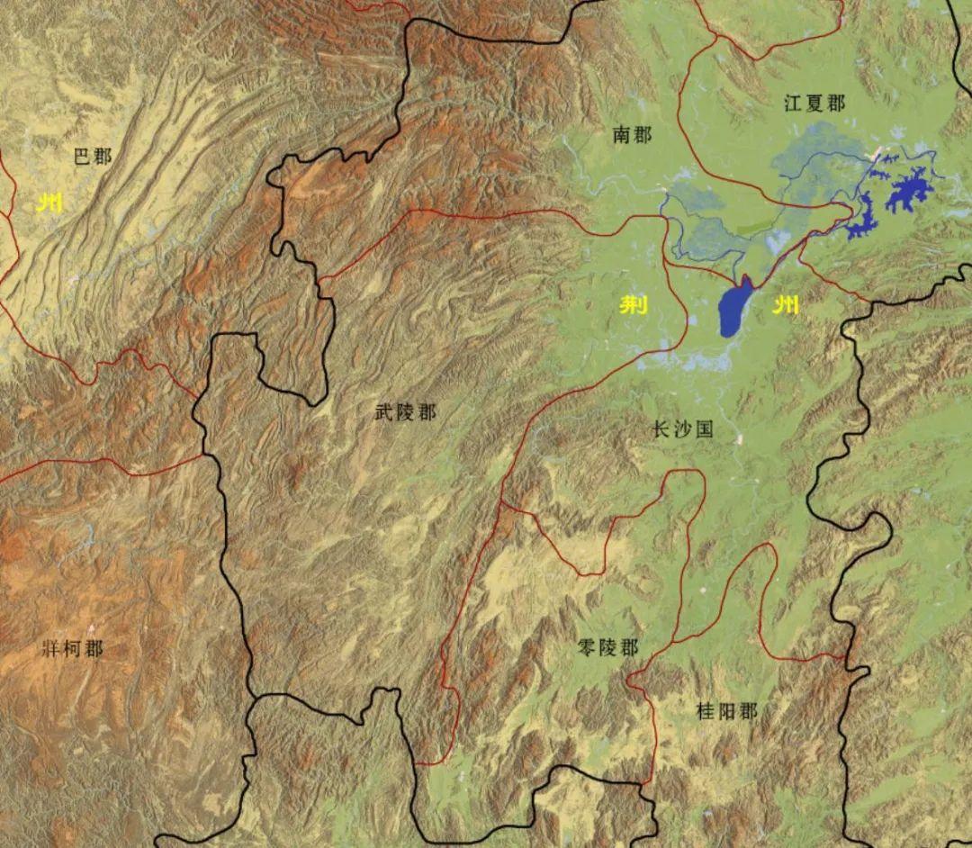"""地缘详解""""夷陵之战""""蜀军的进军路线"""