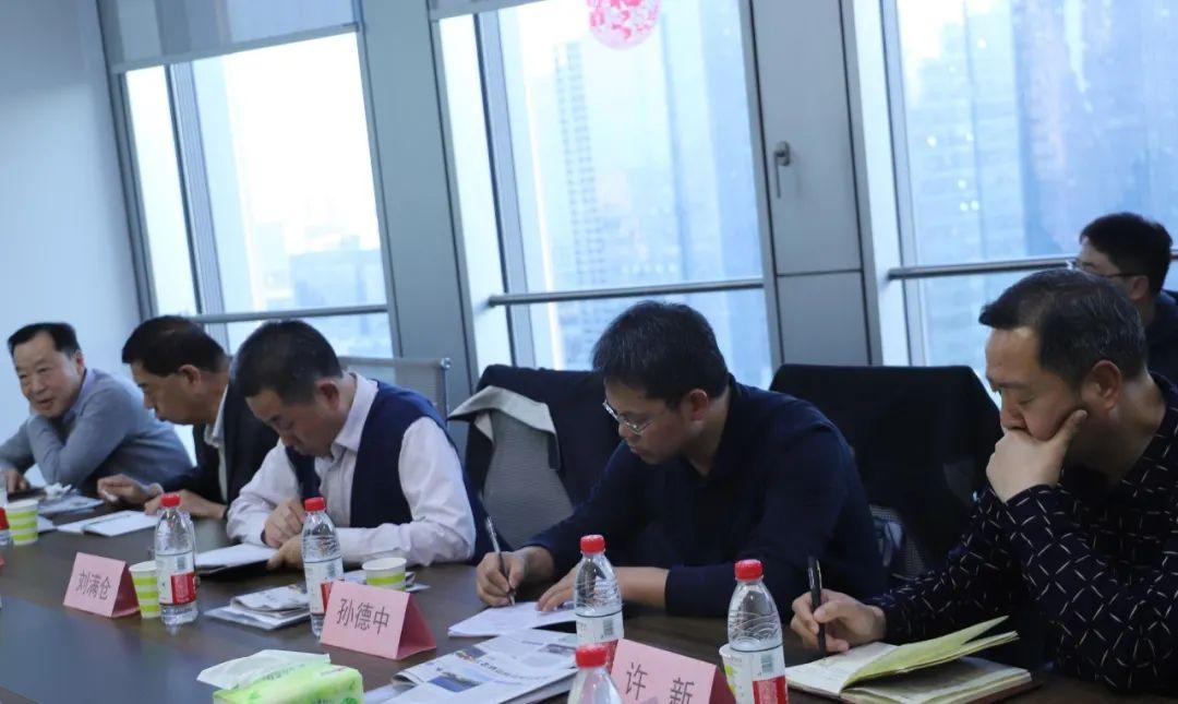 刘满仓主任一行赴赊店老酒郑州分公司调研指导工作