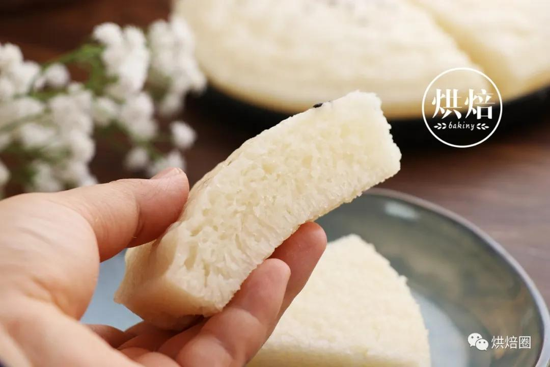 無需太長發酵家庭版快手白糖糕省時省力