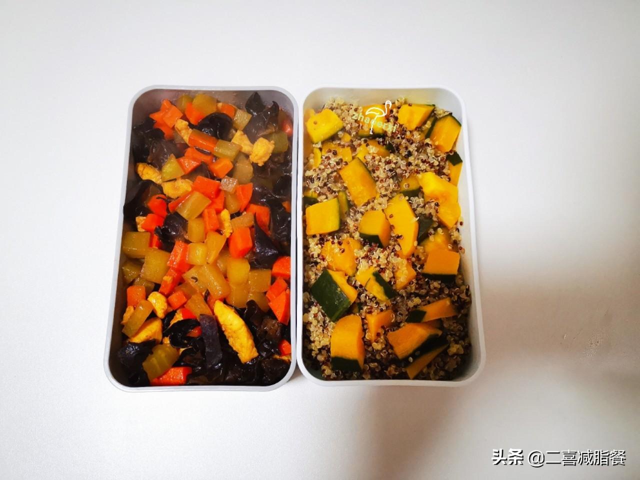 """减脂午餐68:藜麦南瓜饭,被称为""""黄金食物""""的藜麦好在哪里? 减肥菜谱做法 第2张"""