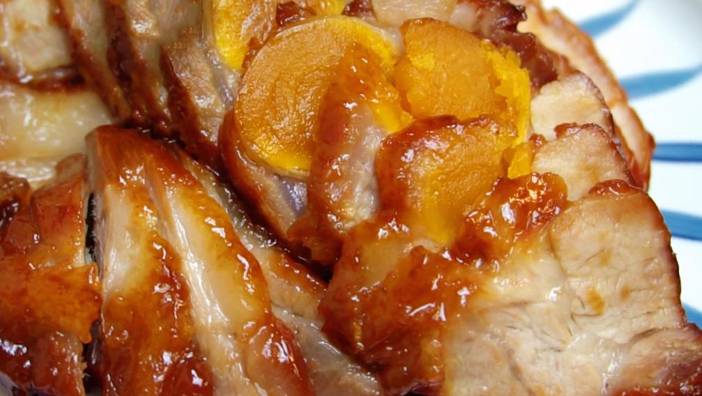 秘制蛋黄叉烧肉,想吃不用买,一口电饭锅就搞定,简单营养又美味